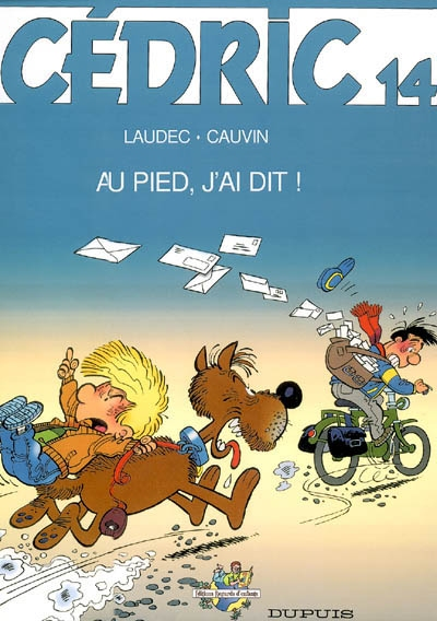 Au pied, j'ai dit ! / dessin, Laudec   Laudec (1948-....). Illustrateur