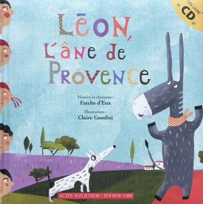 Léon, l'âne de Provence | Fatche d'eux. Auteur