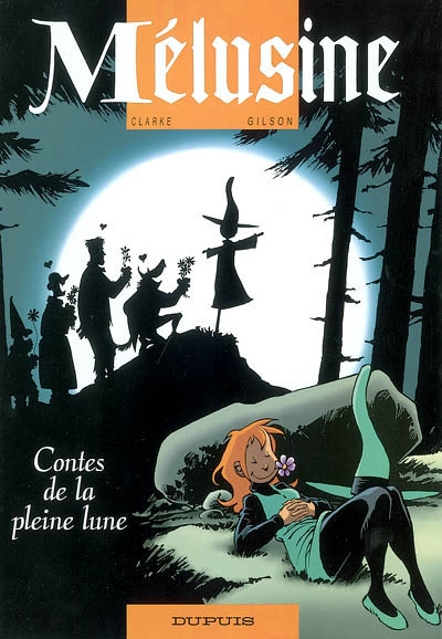Contes de la pleine lune / dessin, Clarke   Clarke (1965-....). Illustrateur