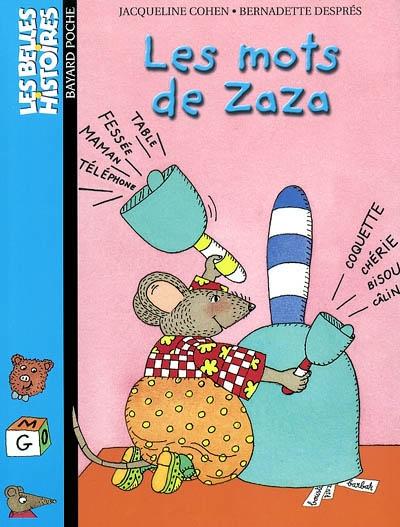 Les mots de zaza : une histoire   Jacqueline Cohen