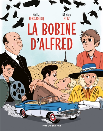 La bobine d'Alfred | Malika Ferdjoukh (1957-....). Auteur