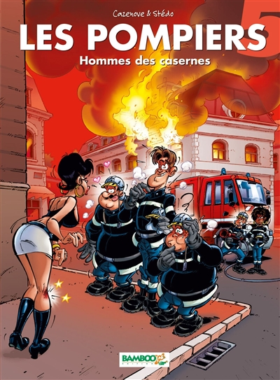 Hommes des casernes / scénario, Cazenove | Cazenove, Christophe (1969-....). Auteur