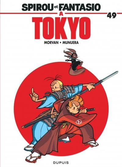 Spirou et Fantasio à Tokyo : le ronin de Yoyogi | Jean-David Morvan (1969-....). Auteur