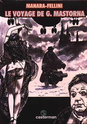 Le voyage de G. Mastorna dit Fernet   Milo Manara (1945-....). Illustrateur