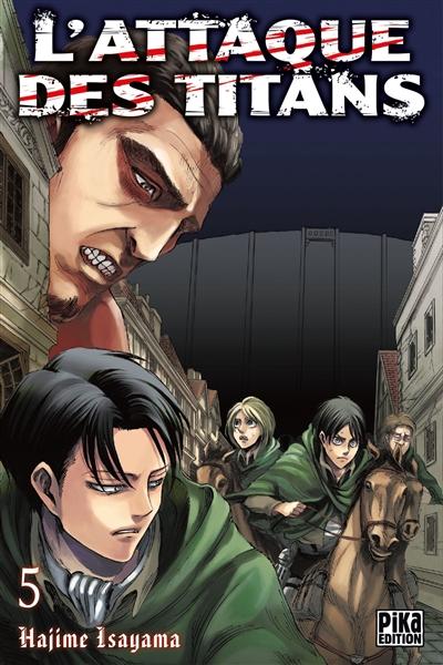 Attaque des titans (L'). 5 | Isayama, Hajime (1986-....). Illustrateur