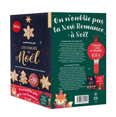 On n'oublie pas la new romance à Noël : 2 romances de Noël + 1 paire de chaussettes