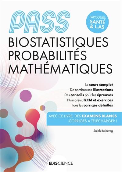 Biostatistiques, probabilités, mathématiques, Pass : parcours santé & L.AS