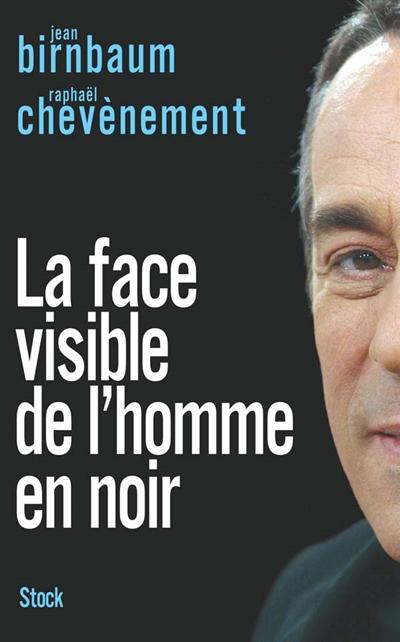 La face visible de l'homme en noir