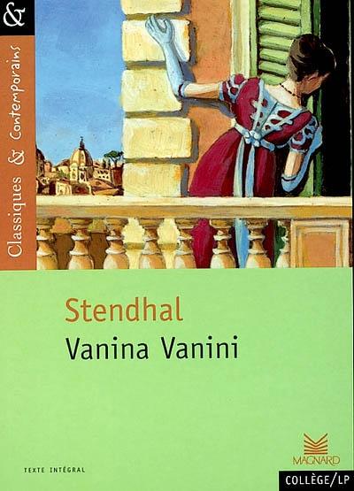 Vanina Vanini / Stendhal | Stendhal (1783-1842). Auteur
