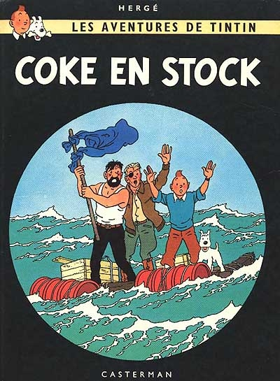 Coke en stock. [19] / Hergé | Hergé
