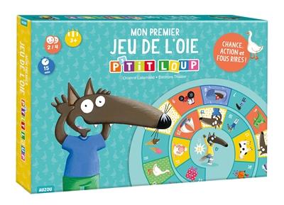 Mon premier jeu de l'oie P'tit Loup : chance, action et fous rires !