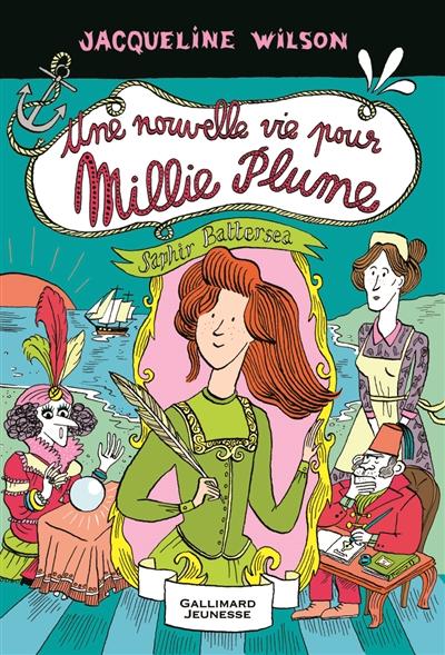 nouvelle vie pour Millie Plume (Une) / Jacqueline Wilson   Wilson, Jacqueline. Auteur
