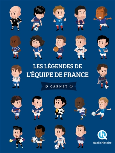 Les légendes de l'équipe de France / textes Patricia Crété | Crété, Patricia. Auteur