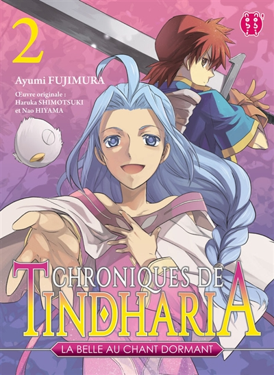 Chroniques de Tindharia, la belle au chant dormant. 02 : manga / Ayumi Fujimura   Fujimura, Ayumi. Auteur. Illustrateur