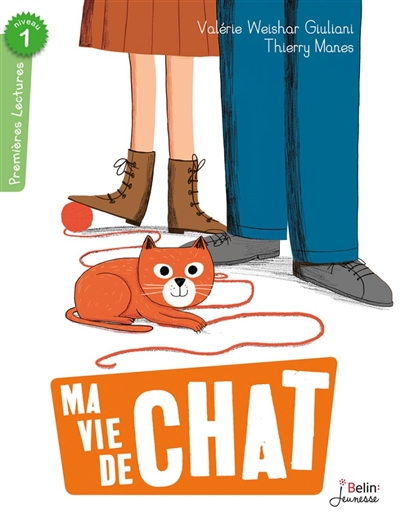 Ma vie de chat / Valérie Weishar Giuliani   Weishar-Giuliani, Valérie (1969-....). Auteur