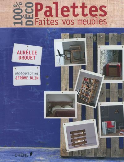 100 % déco palettes : faites vos meubles / Aurélie Drouet | Drouet, Aurélie. Auteur