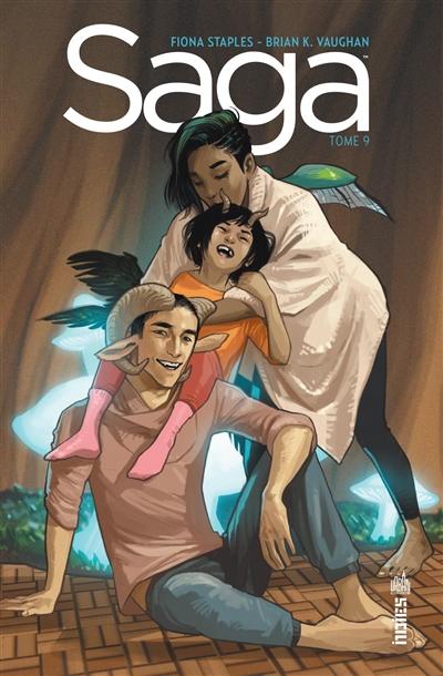 Saga. 9 | Vaughan, Brian K. (1976-....). Auteur