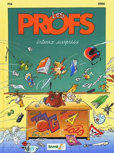 Interro surprise / Pica et Erroc... | Pica (1953-....). Auteur
