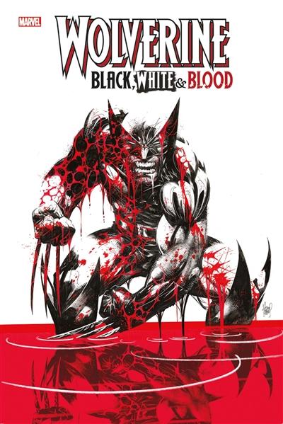 Wolverine black, white & blood