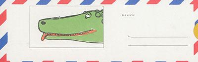 Les larmes de crocodile | André François (1915-2005)