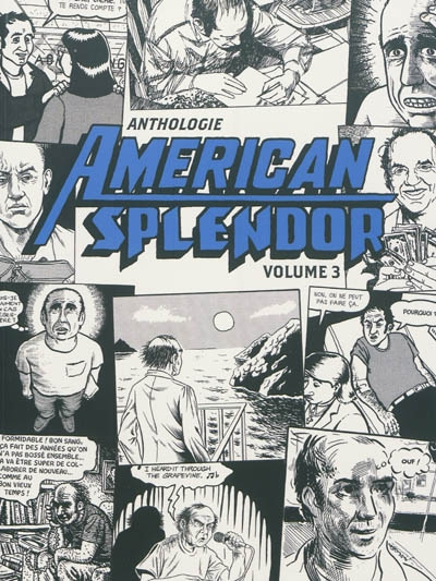 Anthologie American splendor. Volume 3 | Pekar, Harvey (1939-2010). Auteur