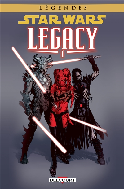 Star Wars Legacy. 1, Anéanti / scénario John Ostrander | Ostrander, John. Auteur