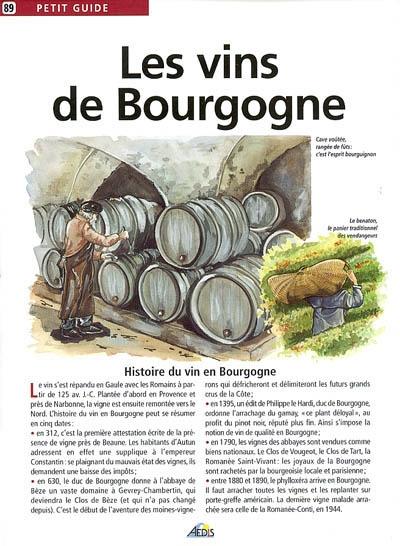 Les vins de Bourgogne / texte Florence Kennel | Kennel, Florence