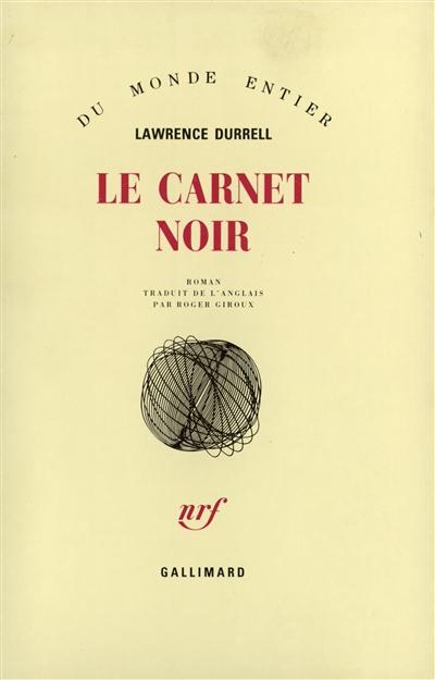 Le carnet noir   Lawrence Durrell (1912-1990)