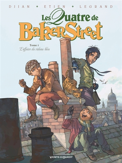 Les quatre de Baker Street. Vol. 1. L'affaire du rideau bleu