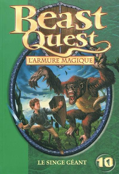 L' armure magique : le singe géant / Adam Blade | Blade, Adam (1980?-....). Auteur