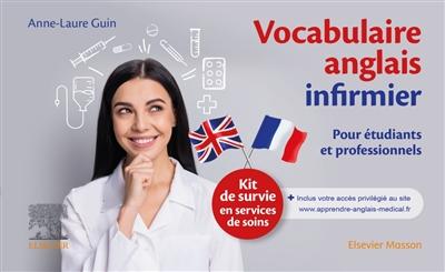 Kit de survie de l'anglais infirmier