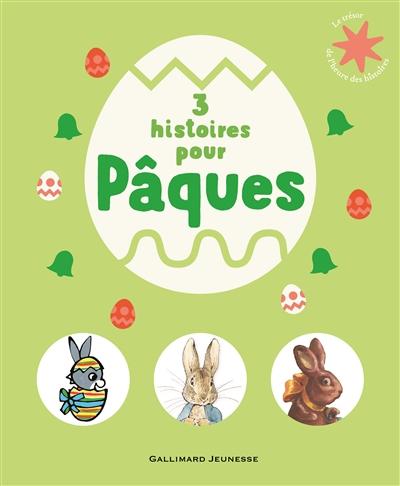 Couverture de : 3 histoires pour Pâques