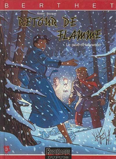 Retour de flamme | Philippe Berthet (1956-....). Illustrateur
