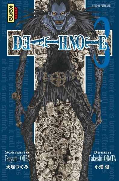 Death note. 3 / scénario, Tsugumi Ohba | Oba, Tsugumi (19..-....). Auteur