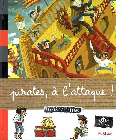 Pirates, à l'attaque ! / [Karine Harel] | Harel, Karine. Auteur