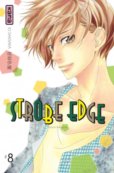 Strobe edge. 8   Io Sakisaka. Auteur