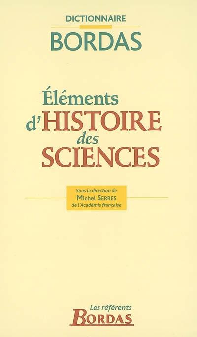 Eléments d'histoire des sciences |