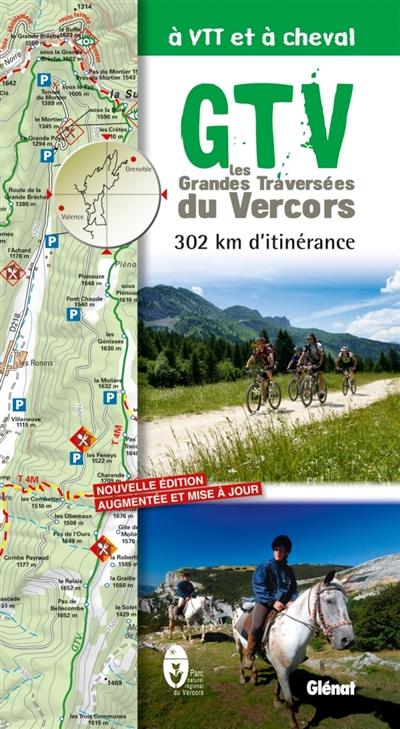 GTV, les grandes traversées du Vercors à VTT et à cheval : 302 km d'itinérance | Parc naturel régional du Vercors. Auteur