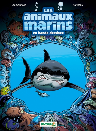 animaux marins en bande dessinée (Les). [Tome 1] |