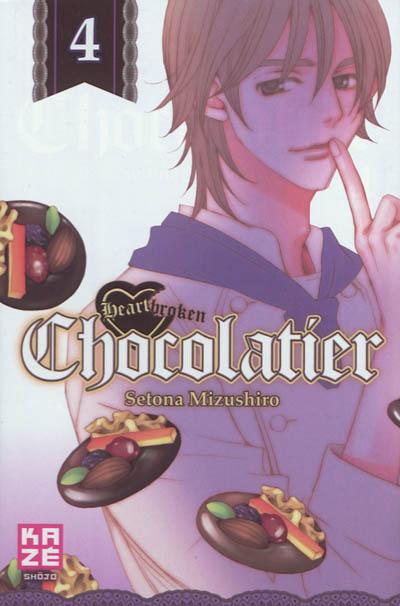 Heartbroken chocolatier. 4 | Setona Mizushiro (1971-....). Auteur