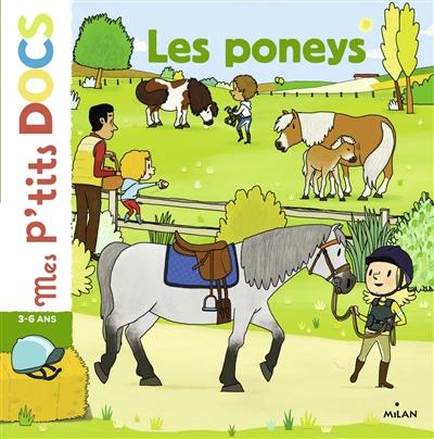 Les poneys / textes de Stéphanie Ledu | Ledu, Stéphanie (1966-....). Auteur