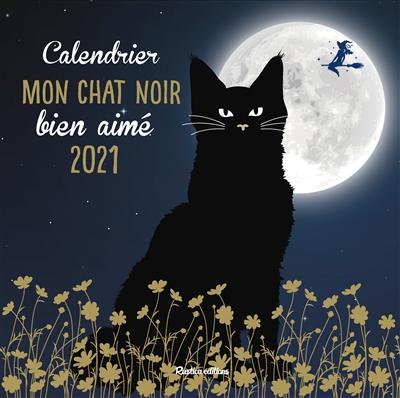 Mon chat noir bien aimé : calendrier 2021