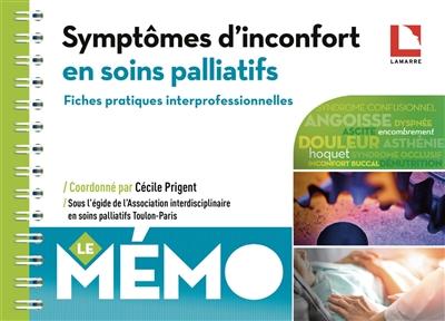 Symptômes d'inconfort en soins palliatifs : fiches pratiques interprofessionnelles