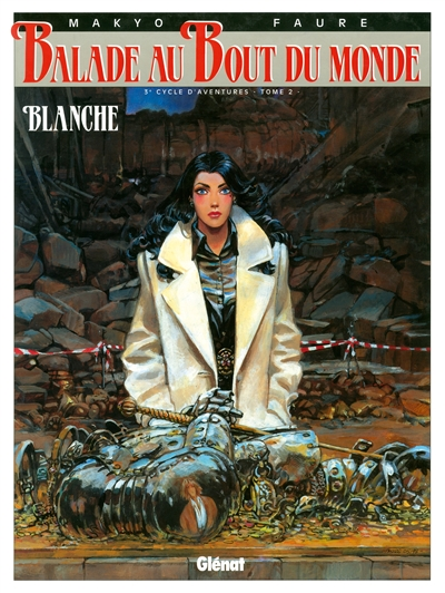 Blanche / Makyo, Faure | Makyo. Auteur