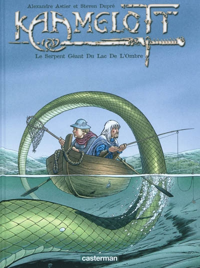 Kaamelott. Vol. 5. Le serpent géant du lac de l'ombre