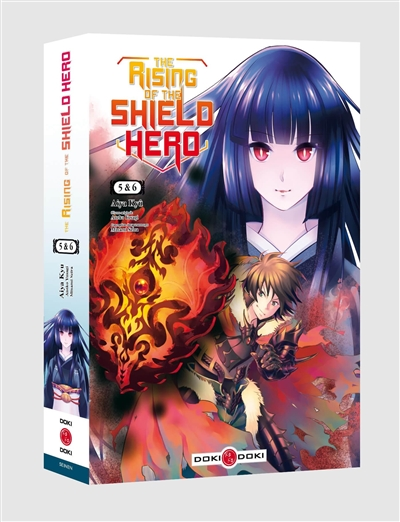 The rising of the shield hero : pack volumes 5 et 6