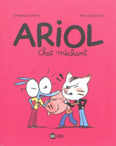 Chat méchant / Emmanuel Guibert, Marc Boutavant | Guibert, Emmanuel. Auteur