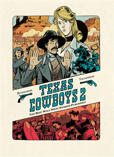 Texas cowboys : the best wild west stories published. Vol. 2