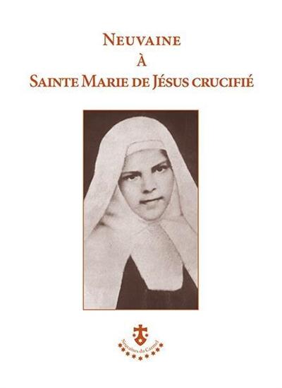 Neuvaine à sainte Marie de Jésus crucifié