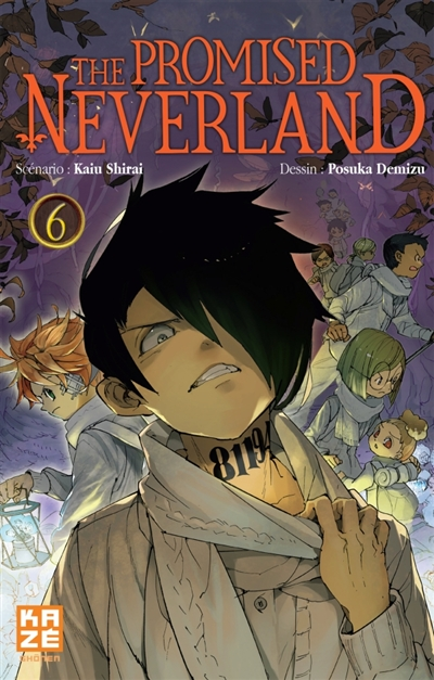 promised neverland (The). 6 / scénario Kaiu Shirai | Shirai, Kaiu. Auteur